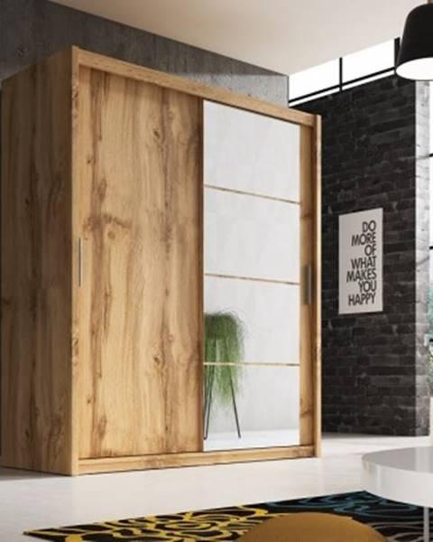 Wipmeb Posuvná šatní skříň argos - 180x220x58 cm