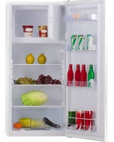 Kombinovaná chladnička s mrazákem nahoře amica vj 12324 w