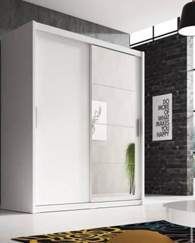 Posuvná šatní skříň argos - 180x220x58 cm