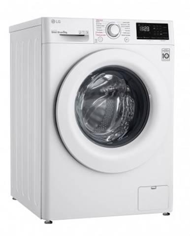 Pračka předem plněná pračka s předním plněním lg f4turbo9e, b, 9 kg