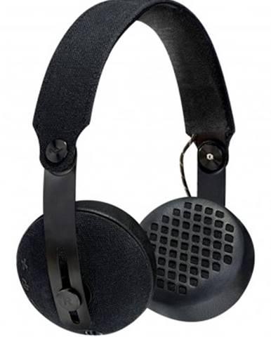 Sluchátka přes hlavu sluchátka přes hlavu marley rise - black, bluetooth