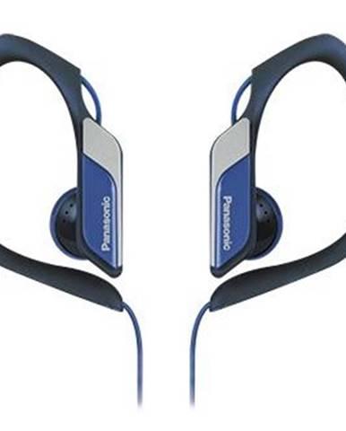 Špuntová sluchátka panasonic rp-hs34e-a, černá modrá