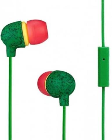 Špuntová sluchátka sluchátka do uší marley little bird - rasta