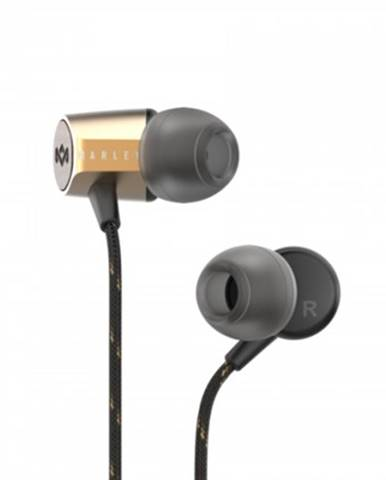 Špuntová sluchátka sluchátka do uší marley uplift 2.0 - brass