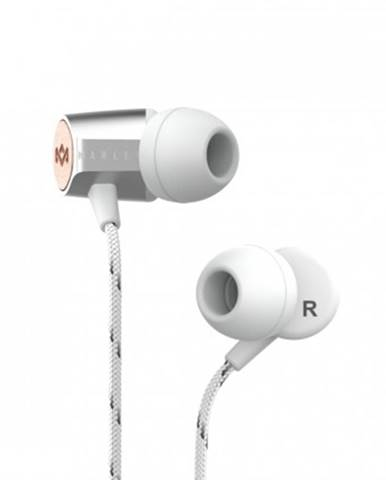 Špuntová sluchátka sluchátka do uší marley uplift 2.0 - silver