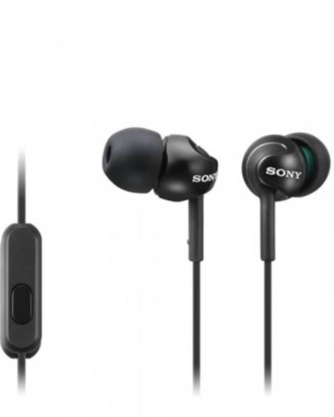 Sony Špuntová sluchátka sony sluchátka mdr-ex110ap černá
