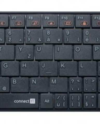 Bezdrátová klávesnice connect it ci-210 usb cz, černá