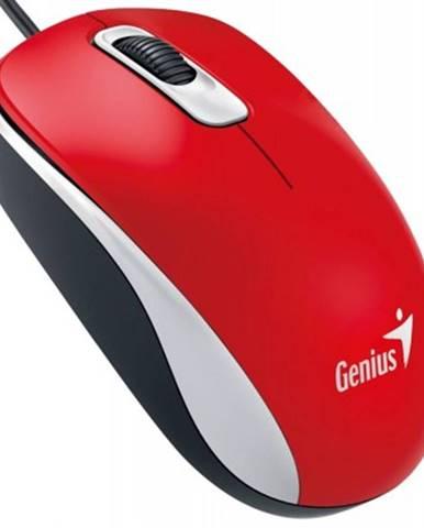 Drátové myši drátová myš genius dx-110, 1000 dpi, červená