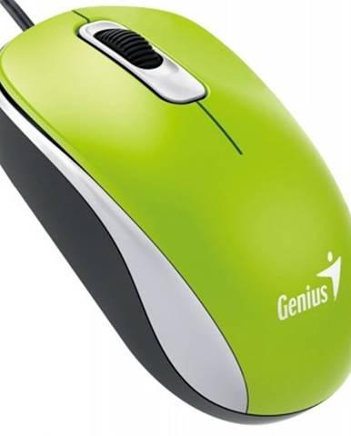 Drátové myši drátová myš genius dx-110, 1000 dpi, zelená