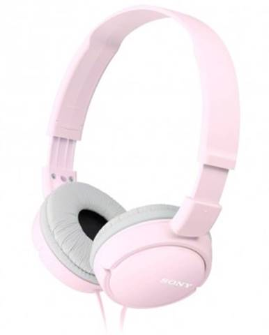 Sluchátka přes hlavu sony mdr-zx110, růžová