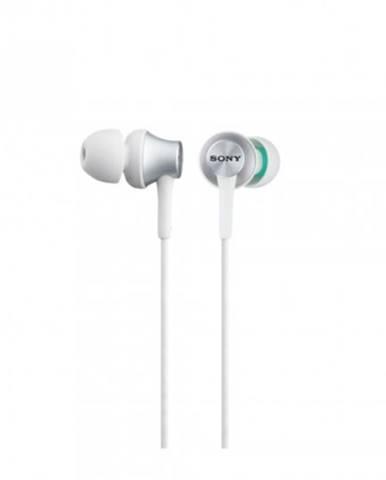 Špuntová sluchátka sony sluchátka mdr-ex450ap bílá
