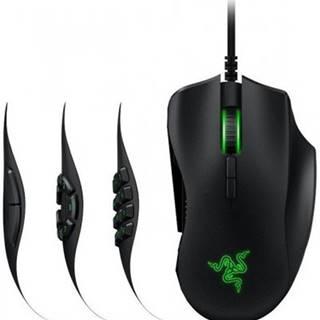 Drátové myši drátová herní myš razer naga trinity, 16 000 dpi, černá