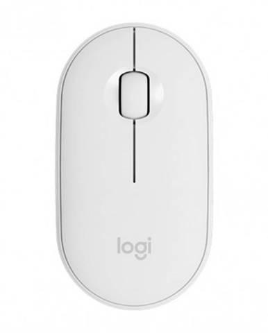 Bezdrátové myši bezdrátová myš logitech m350, bílá