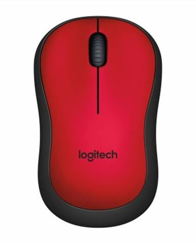 Bezdrátové myši logitech m220 silent mofor wireless, červená