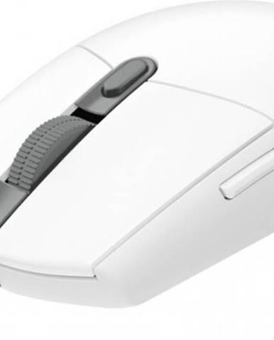 Drátové myši herní myš logitech g102 lightsync, odezva 1 ms, bílá