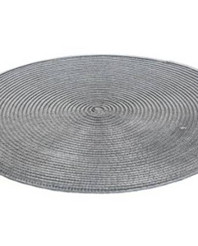 Prostírání banquet tondo, kulaté, 38cm, šedé
