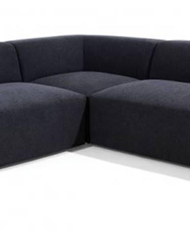 Rohová sedačka zeus pravý roh černá