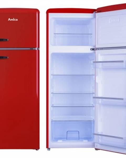 Amica Kombinovaná lednice s mrazákem nahoře amica vd 1442 ar