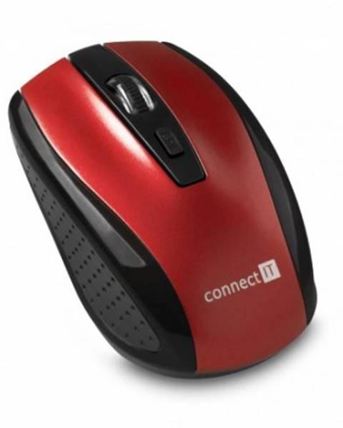 Connect IT Bezdrátové myši connect it bezdrátová optická myš, červená
