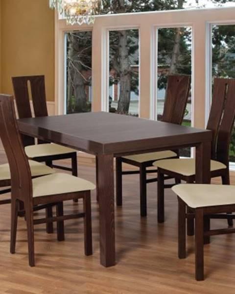 Firma Produkcyno CARGO Jídelní set set 1 - 6x židle, stůl, rozkládací