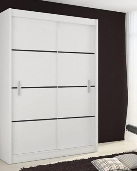 Euromebel Styl Posuvná šatní skříň multi - 150/215/61