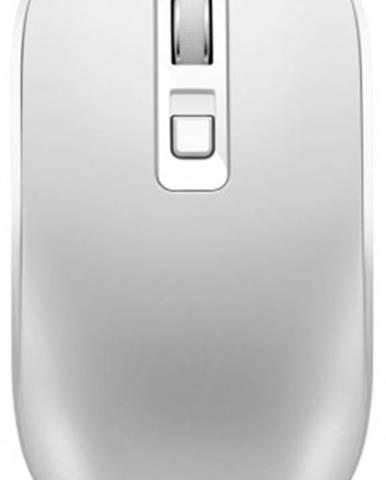 Bezdrátové myši bezdrátová myš canyon cns-cmsw18pw, s bezdrát. nabíjením, bílá