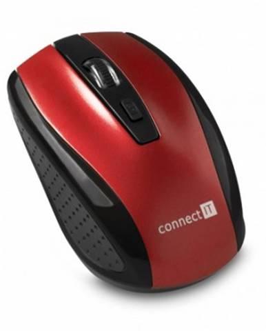 Bezdrátové myši connect it bezdrátová optická myš, červená