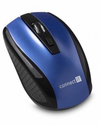 Bezdrátové myši connect it bezdrátová optická myš, modrá
