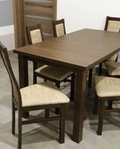 Jídelní set jídelní set agáta - 6x židle, 1x rozkládací stůl