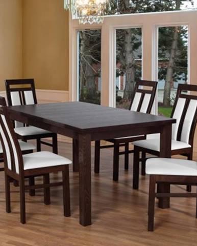 Jídelní set set 7 - 6x židle,1x stůl,rozklad