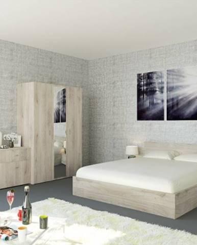Ložnicový komplet ložnicový komplet denali-rám postele,skříň,komoda,2 noční stolky