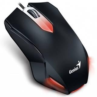 Drátové myši drátová myš genius x-g200, 1000 dpi, černá