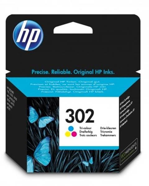 HP Náplně a tonery - originální cartridge hp f6u65ae, 302, tri-color