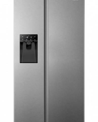 Americká lednice hisense rs694n4tie, 454l
