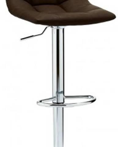 Barová židle barová židle fuente tmavě hnědá