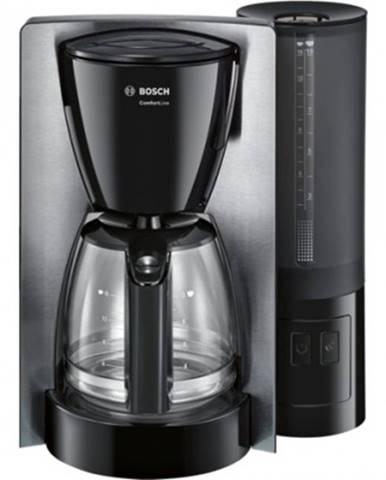 Překapaváč kávy kávovar bosch tka6a643, nerez/černá