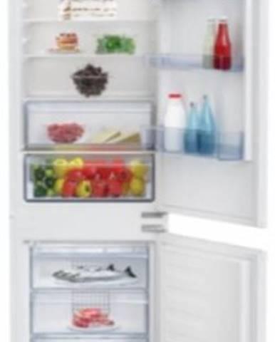Vestavná kombinovaná lednice beko bcsa285k3sn minfrost