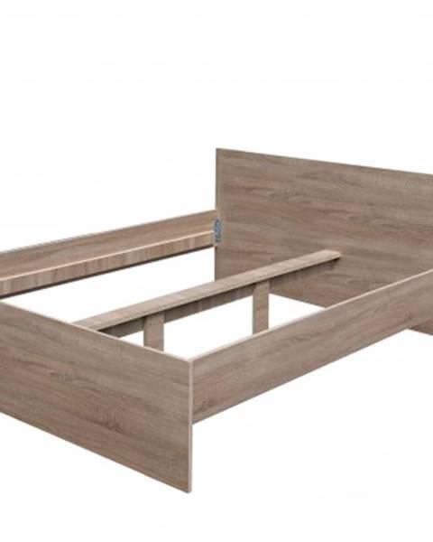 Lamivex Dřevěná postel nikola i, 160x200, bez roštu a matrace
