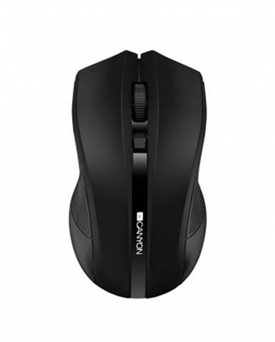 Bezdrátové myši canyon cne-cmsw05b, wireless optická myš usb, černá
