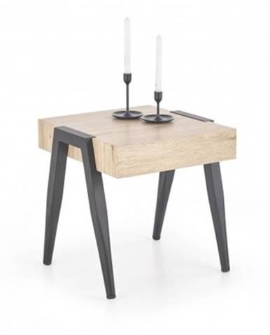 Konfereční stolek - dřevěný konferenční stolek spot