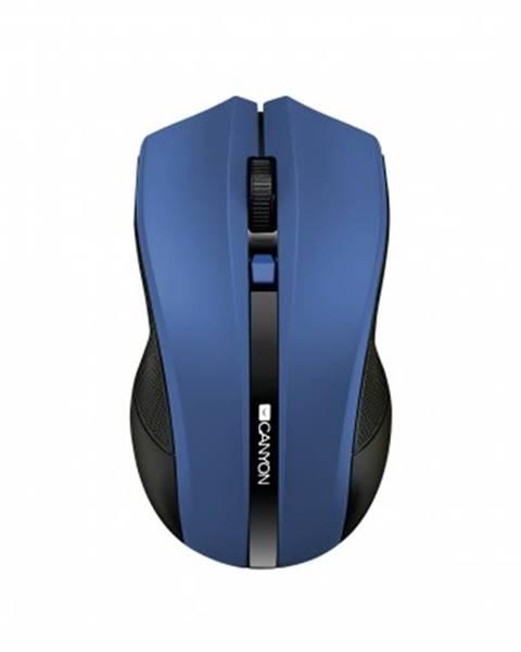 Canyon Bezdrátové myši canyon cne-cmsw05bl, wireless optická myš usb, modrá