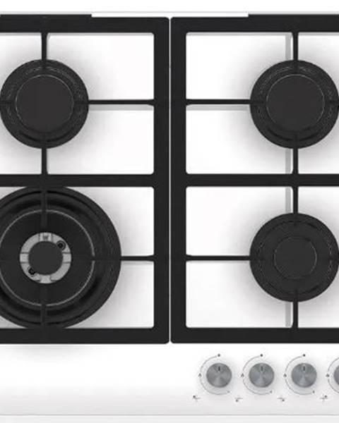 Beko Plynové desky plynová varná deska beko hilw 64225 sw,speciální wok hořák,bílá