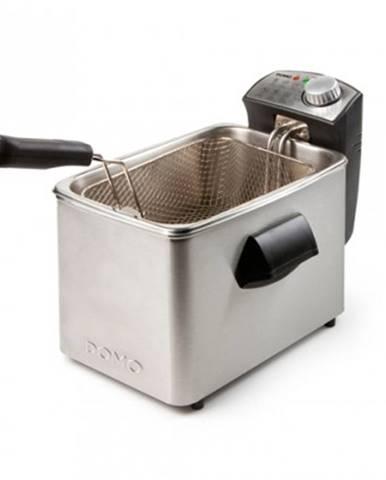 Fritovací hrnec fritéza domo do458fr, 4l