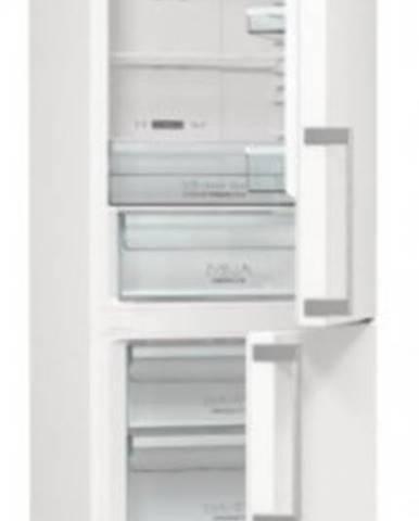 Kombinovaná lednice s mrazákem dole gorenje nrk6192ew5f