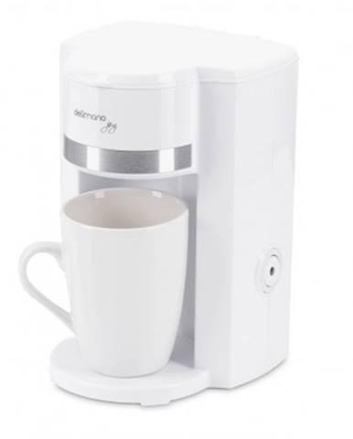 Překapaváč kávy kávovar delimano joy, bílá