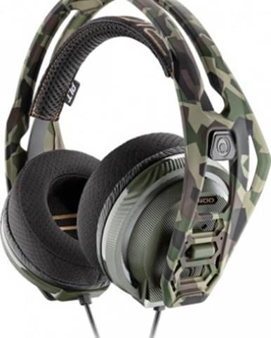 Sluchátka přes hlavu headset plantronics rig 400, pro pc, forest camo