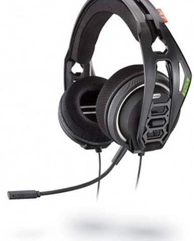 Sluchátka přes hlavu headset plantronics rig 400hx, pro xbox one, černá