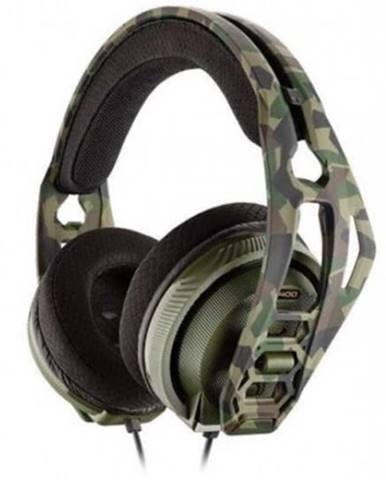 Sluchátka přes hlavu headset plantronics rig 400hx, pro xbox one, kamufláž