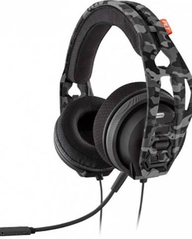 Sluchátka přes hlavu headset plantronics rig 400hx, pro xbox one, urban camo