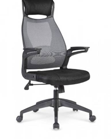 Kancelářská židle regina, černá, šedá